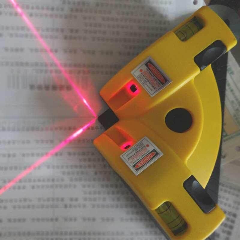Praktis Mesin Penggiling Vertikal Horisontal Garis Proyeksi Laser Tingkat Square Tepat 90 Derajat-Intl