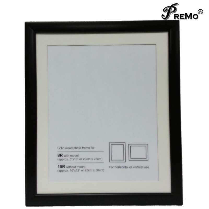 Contemporary Wooden Photo Frame w/ mounting-8R/10R - intl