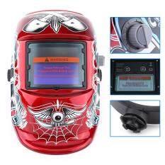 Pro Solar Auto Darkening Welding Helmet Arc Tig Mig Mask Grinding Welder Protecting Tool