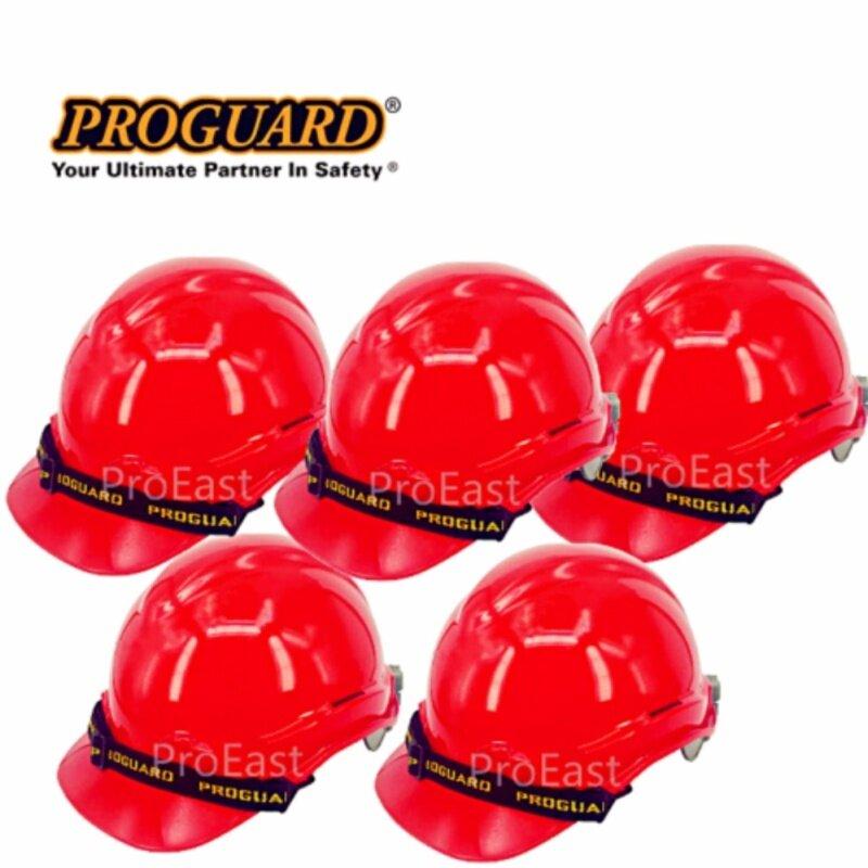Proguard 5 unit HG1-PHSL Advantage Safety Helmet RED (Sirim Certified)