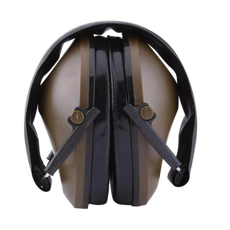 Protection Noise Reduction Earmuff Ear Muff for Shooting Hunting (Brownish Green)