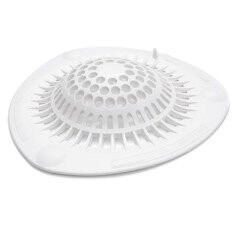 PVC Sink Strainer Floor Drain Cover Hair Catcher Shower Trap Basin Filter For Bathroom Kitchen Size L