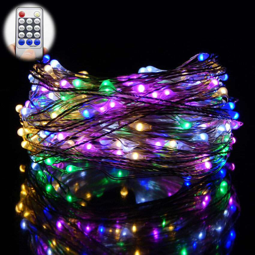 OurGoal  Remote Control 66Ft 20M 200 LEDs LED String Starry lights Christmas