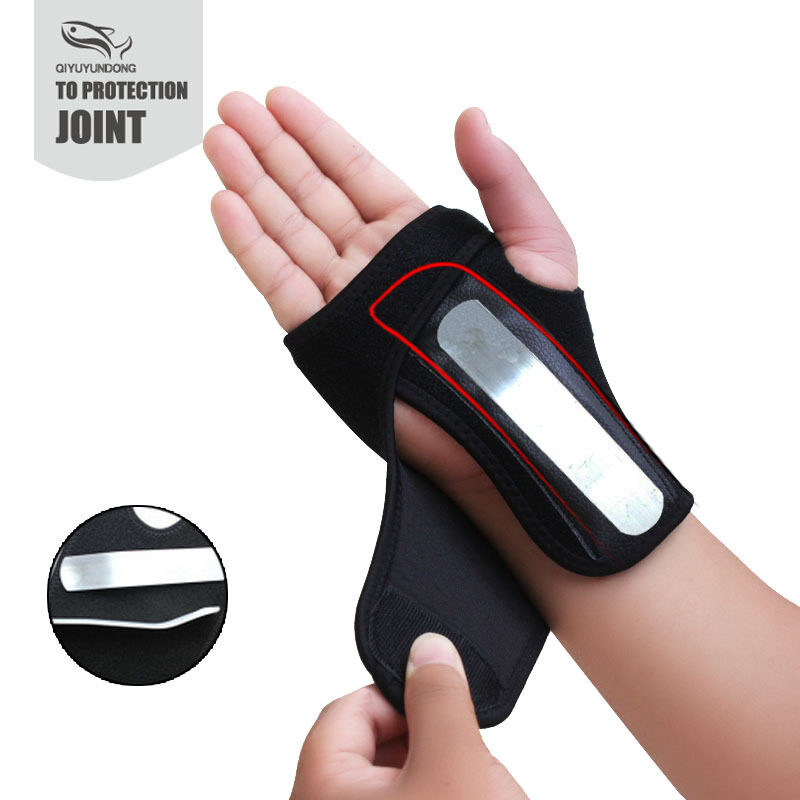 Removable outdoor goods (quick delivery) by wrist guard hand plate and wrist