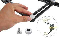 Repetitive Spacing Angle Gauging Ruler Template Tool Angle For Angle Measuring By Costel.