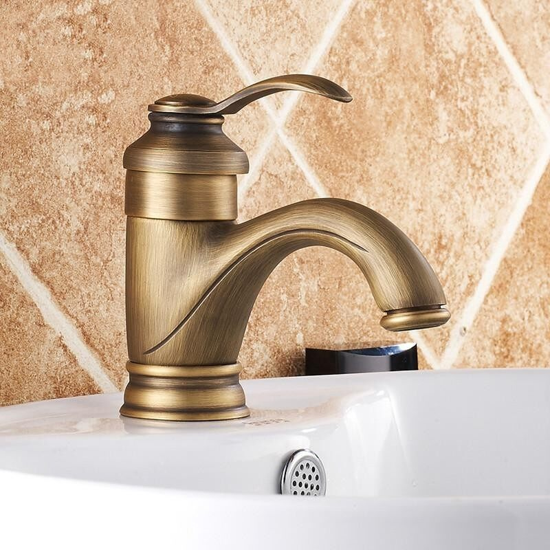 Retro Single Handle Bathroom Sink