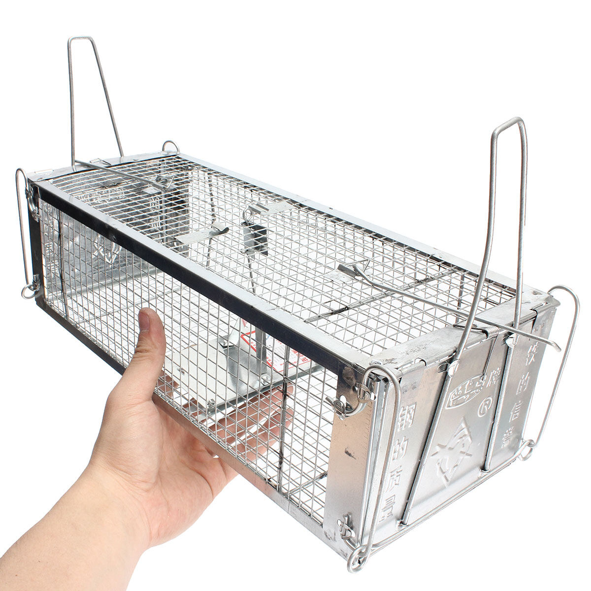 Reusable Rodent Live Animal Mouse Trap Snap Hamster Cage Rat Control Catch Bait