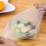 Reusable Seal Vacuum Food Fresh Magic Wrap Kitchen Gadget