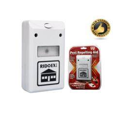 Riddex Plus Pest Repellent Repelling Aid for Rodents Roaches Ants Spiders EU plug High Quality