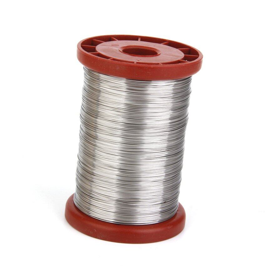 TTW 0.5mm 500G Stainless Steel Wire for Hive Frames Beekeeping Tool 1 Roll