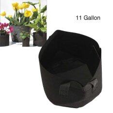 Round Fabric Pots Plant Pouch Root Container Grow Bag Aeration Pot 11 Gallon