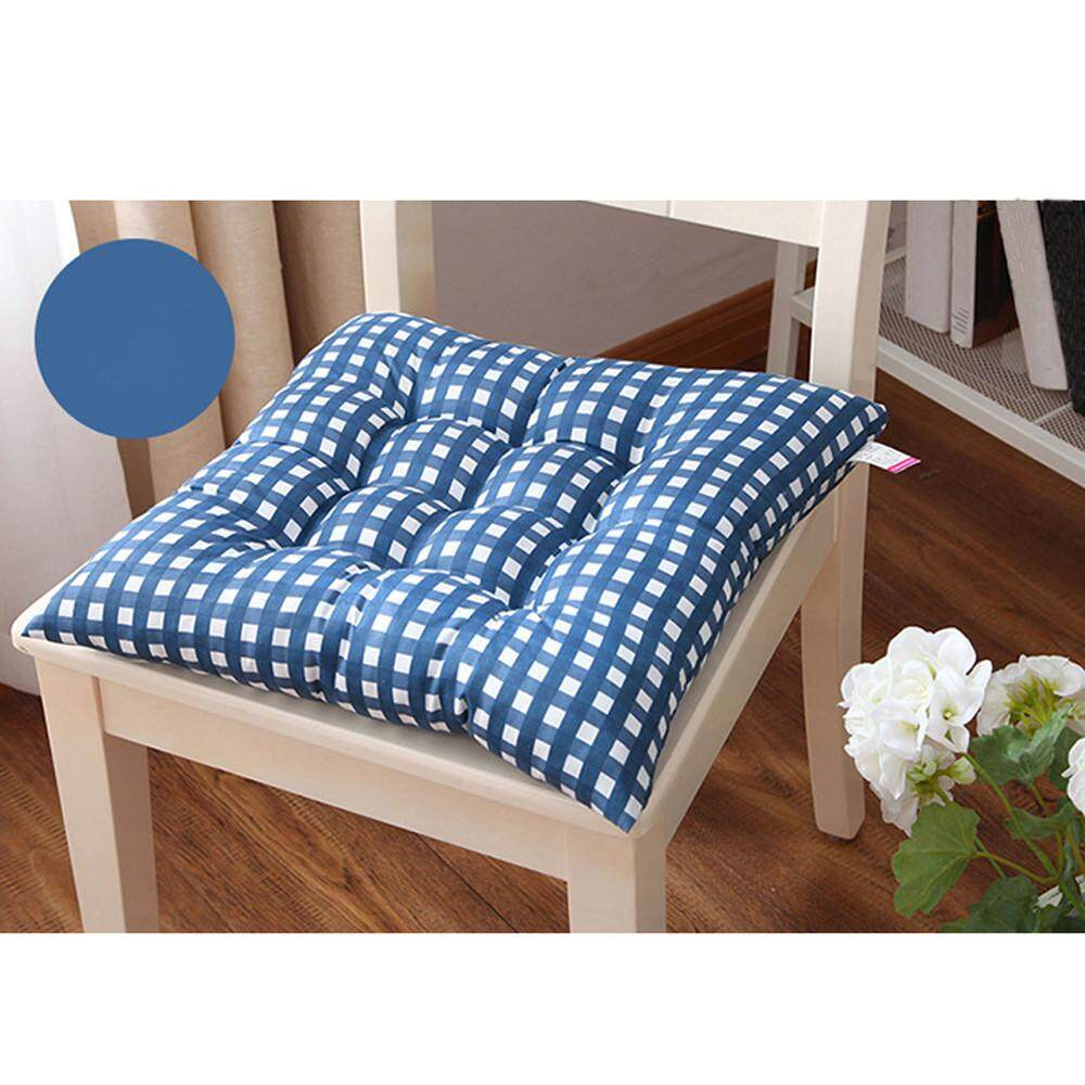 Rowellshop Indoor Home Kitchen Office Chair Pads Seat Pads Cushion Blue Intl Sale