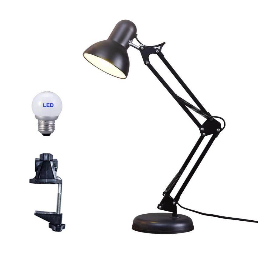 Airsky Runda Century Arm Desk Lamp C Clamp Table Flexible