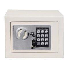 Safe Box 17E Home / Hotel Use High Quality Digital Safety Box (White)