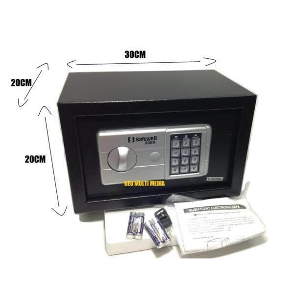 Safe box 20EK High Quality Digital Safety box (grey)