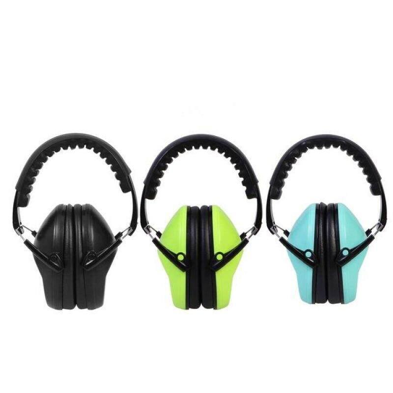 Safety Earmuff Protection Headphone For Noise Impact Sport Sleep Shoot Folding-Intl