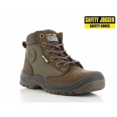 SAFETY JOGGER SAFETY SHOES DAKAR BROWN MIDDLE CUT (SIZE47 UK12)