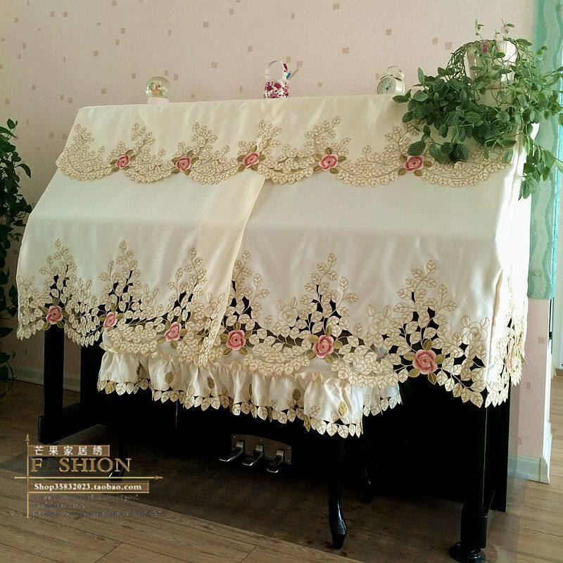 Rural Embroidery Anti-dust Piano Cover Malaysia