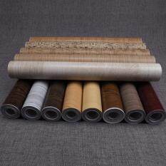 XN Self Adhesive PVC Decal Wood Grain Wall Film Paper Sticker for Home Office Furniture DIY Easy to Install No Mess 10M A07
