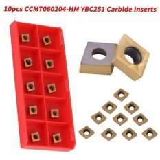 Semi-Finishing 10pcs CNC Carbide Tips Inserts Blade Cutter Lathe Turning Tool With Box