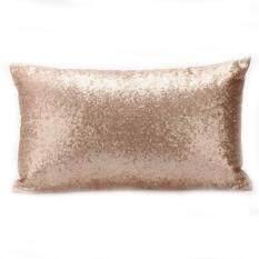 Mainan Yang Indah Payet Sofa Sarung Bantal Klasik Eropa Dekorasi Rumah Muda Polos Bantal Satuan Case Pure Color Hadiah Natal LUCKY-G