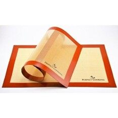 Silicone Baking Mat 16.5X 11 - Set Of 2 - None Stick For Half-Size Sheets, Best For Baking In The Oven, Professional Quality