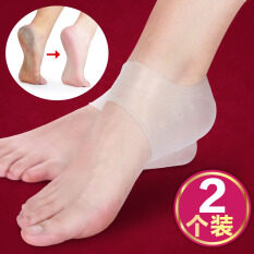 Silica Gel Followed by Protective Case Shoes Cover Heel Pain Men And Women Anti-crack Socks Heel Dry Case Heel Anti-crack Socks Case Style