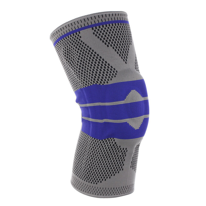 Silicone spring braided knees running basketball mountaineering sports protective gear Sporting goods (fast delivery)