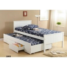 huge selection of f48e5 2eea1 Single Bed with Pull out Drawer 1003