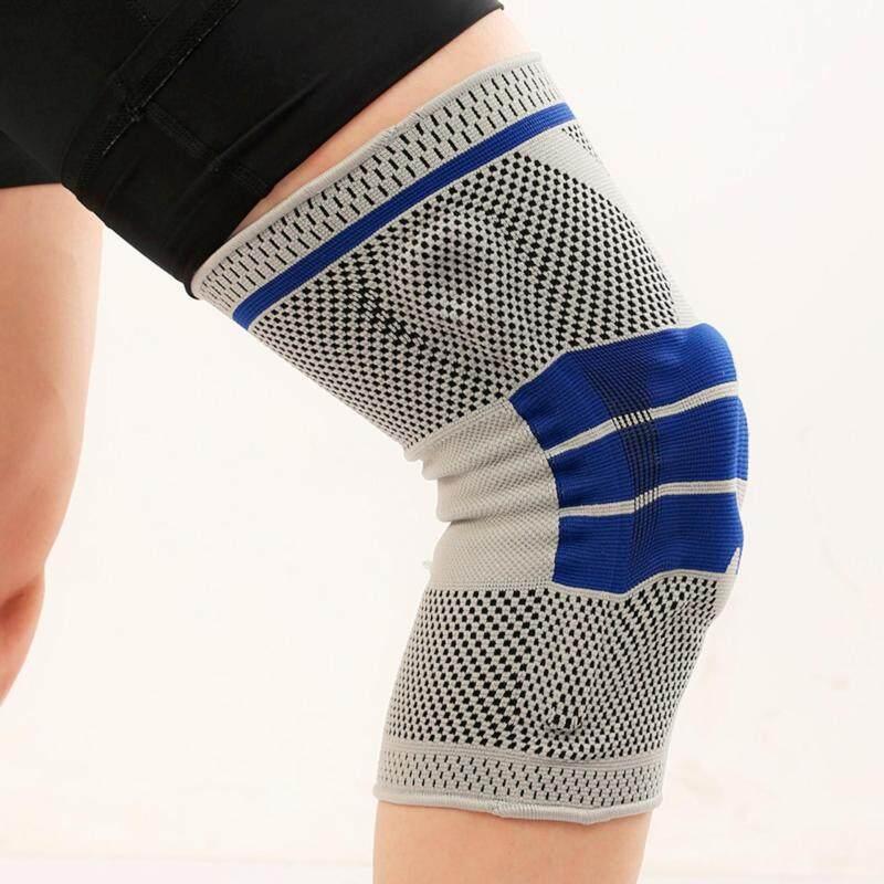M Size Silica Gel Leg Guard Knee Pad Brace Patella Strap Protection Sport Support