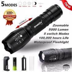 SKYWOLFEYE G700 X800 BYB ShadowHawk Flashlight Led Tactical Zoom Super Bright