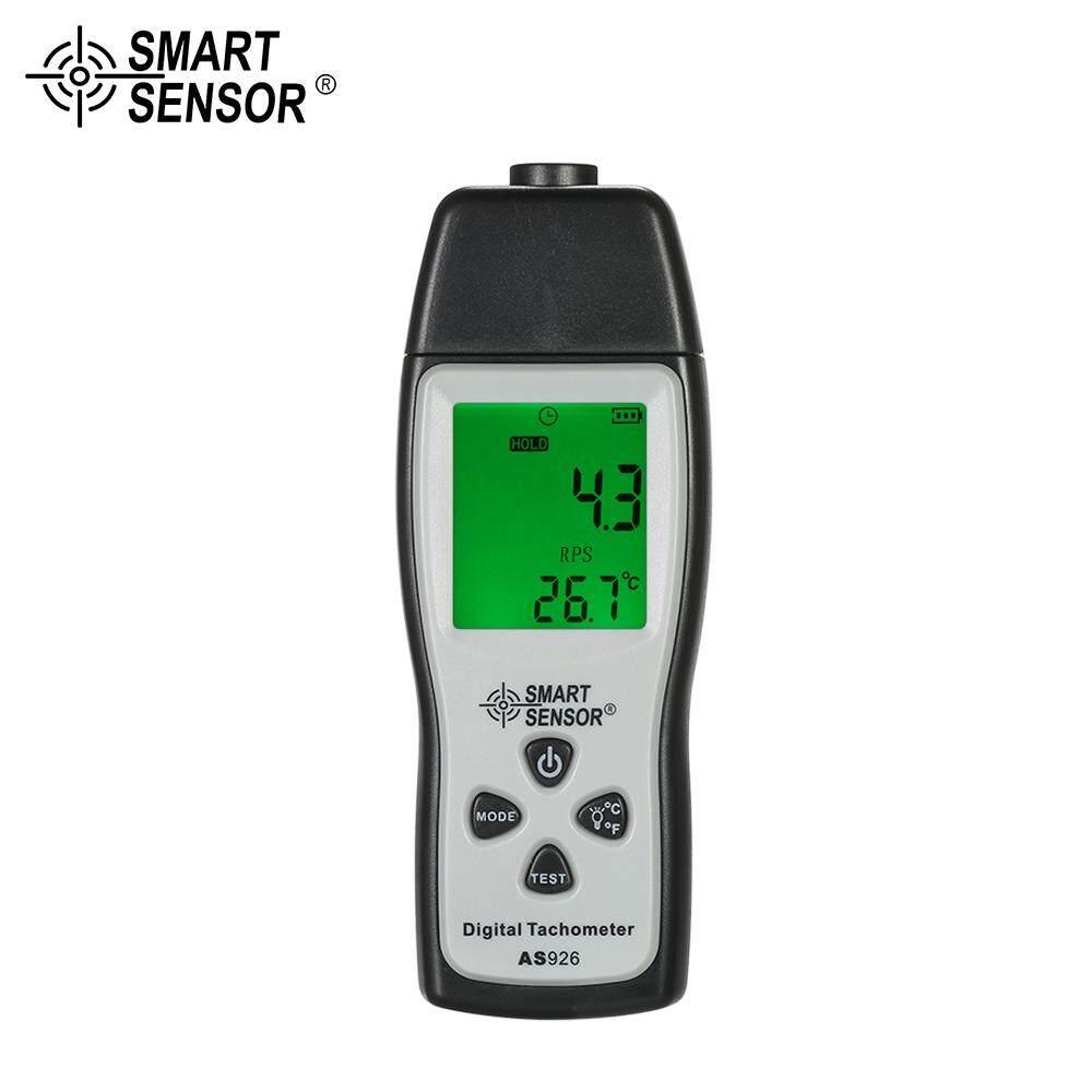 Smart Sensor Profesional Handheld Digital Tachometer Foto Laser Non-kontak Tach Rentang 100 Rpm-