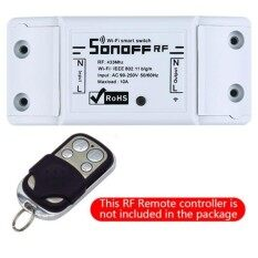 Smart WiFi Wireless 433Mhz Switch Module Socket for Sonoff RF Home Automation