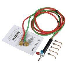 SMITH(23-1001C) Micro Precision Oxygen Butane Welding Torch Kit