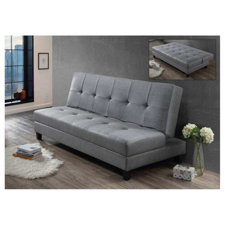 SOFA BED FABRIC GREY EK51: Buy Sell Online Sofas With