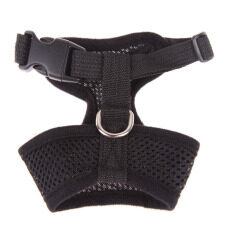 Soft Mesh Dog Harness Pet Puppy Cat Clothing Vest Black M By Sportschannel.
