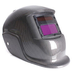 Solar Auto Darken Welding Helmet Mig Arc Tig Mask Grind Welder Mask Carbon Fiber