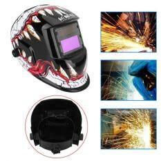 Qianmei Solar Auto Darkening Welding Helmet Arc Tig Mig Grinding Welders Mask Face Eye Protection