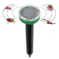 Solar Power Eco-Friendly Mosquitos Pest Balcony Reject Repeller Control