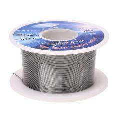 Solid Solder 0.3mm Dia Flux Core 63% Tin 37% Lead Long Wire Reel