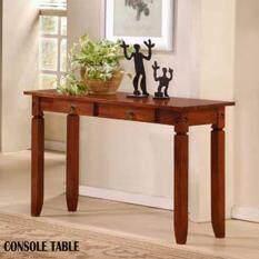Spf 1649 Solid Console Table Oak 4feet