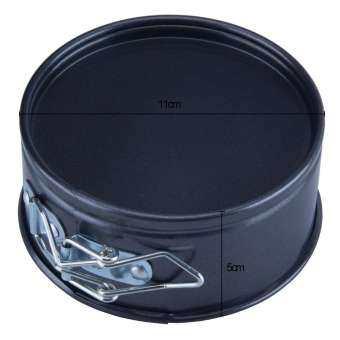 Springform Pan Carbon Steel Nonstick Bakeware Round Cake Mold-