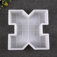 Square Garden Paths Plastic Colorful Brick Mold Circle Stepping Stone Maker