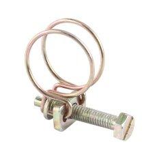 qianmei Stainless Steel Water Hose Clamp Pipe Clip Hoop Plumbing (13mm-16mm)