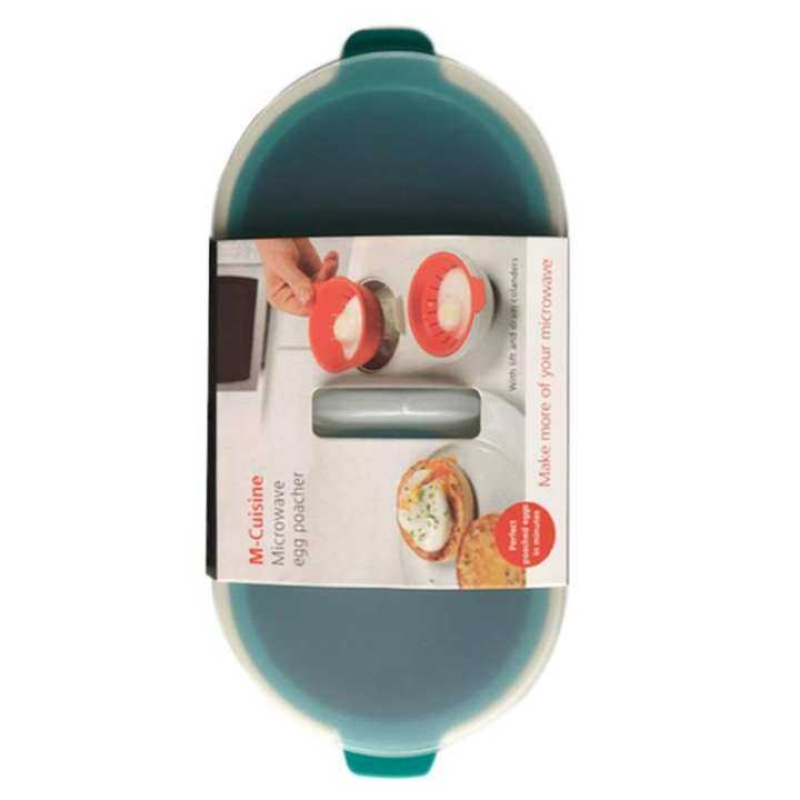 Shuaicai Egg Poacher Cook Poach Pods Egg Tools Microwave Oven Poached Baking Cup For Kitchen