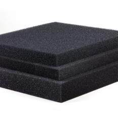 Star Mall Fish Tank Water Purified Filter Black Biochemical Foam Aquarium Pond Sponge Filtration Pad Material Specification 100 * 12 * 2cm