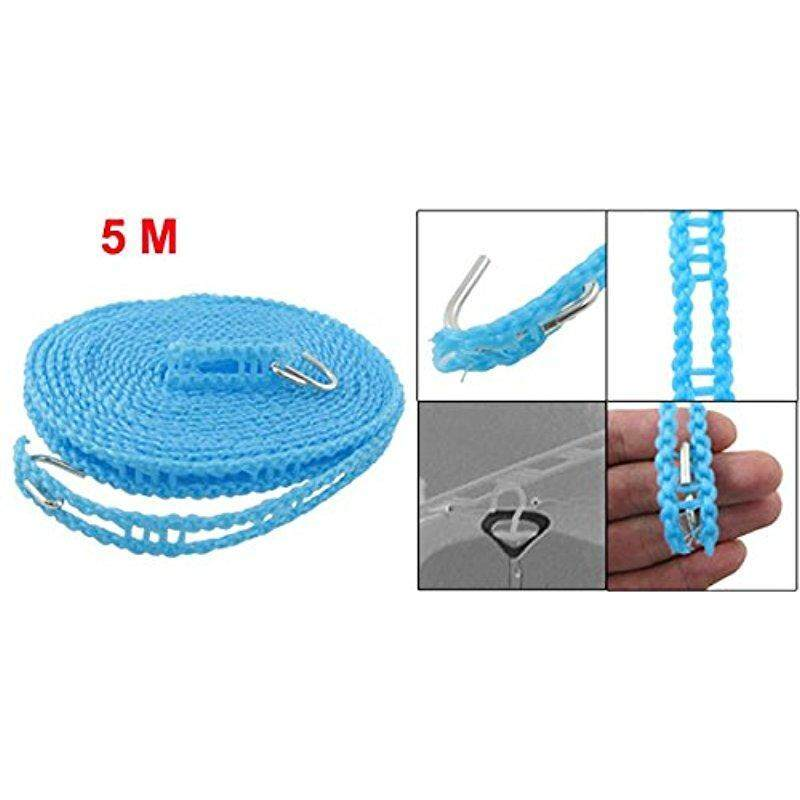 Star Mall Nylon Clothes Rope Line Clothesline 5M 16.4ft Blue