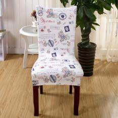 Stretch Dining Chair Cover Polyester Slipcover Protectors For Weddings Banquet Hotel Office Kitchen Type A