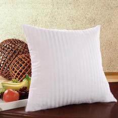 Striped Square Pillow Core Cushion Insert Sofa Decor size:45cm by 45cm