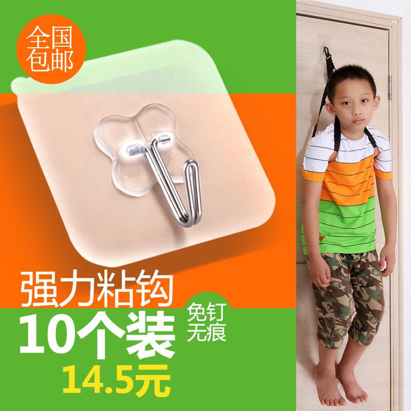 Strong kitchen bathroom door hanging bearing adhesive hook viscose adhesive hook